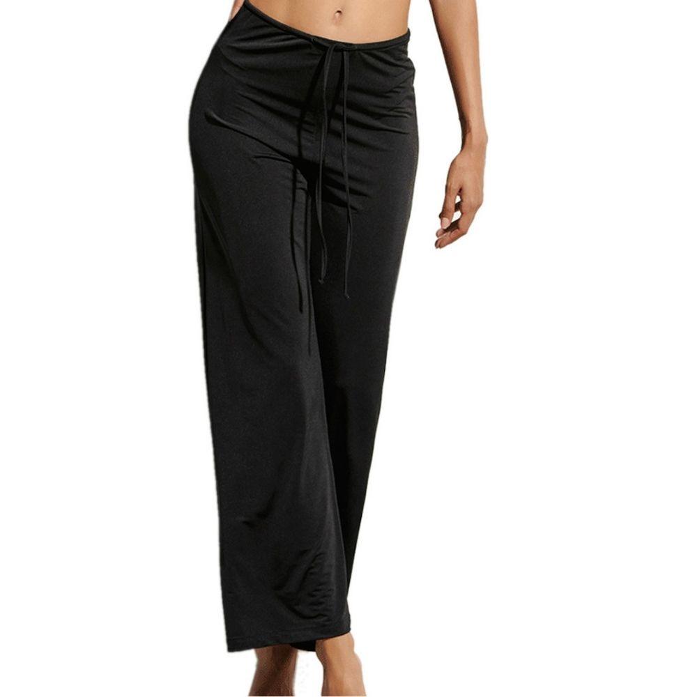 Blu4u Γυναικεία Παντελόνα Μαύρο - 2138000-02