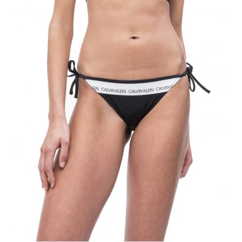 6a69e9880f7 Calvin Klein Γυναικείο Μαγιό Μπικίνι Μαύρο - KW0KW00650-094