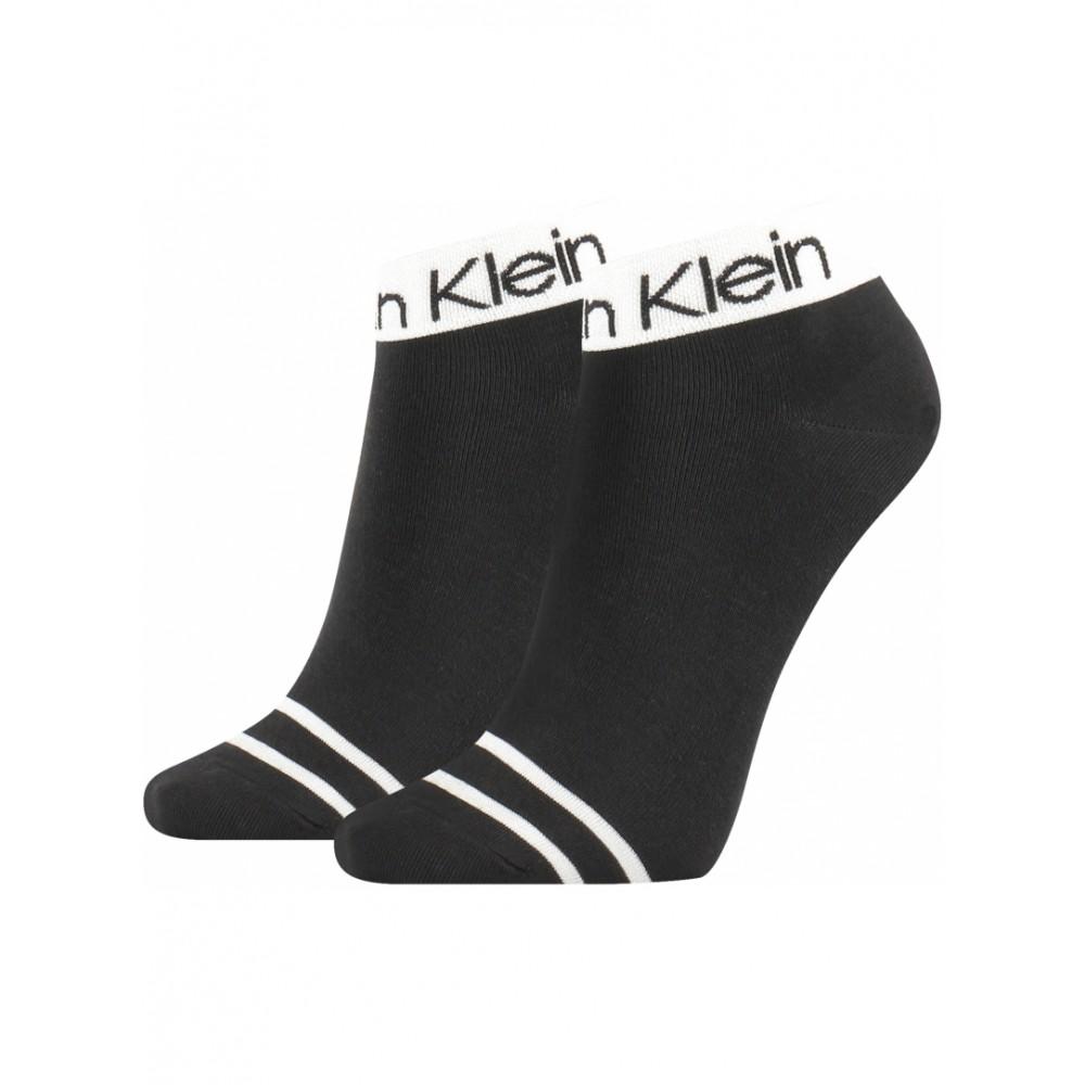 Calvin Klein Γυναικείες Κάλτσες 2τεμ. Μαύρο - 701218775-001