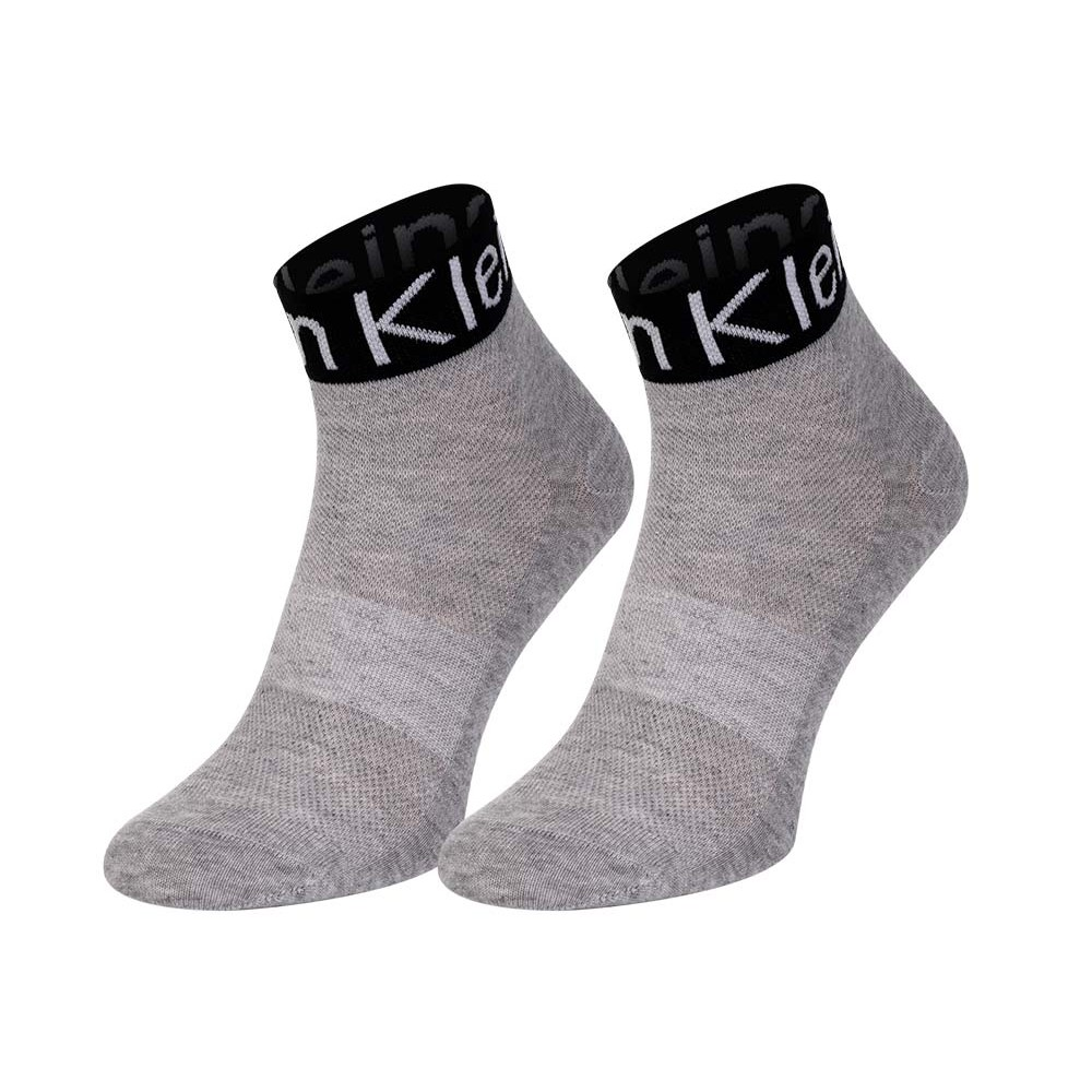 Calvin Klein Γυναικείες Κάλτσες Γκρι - 701218785-003