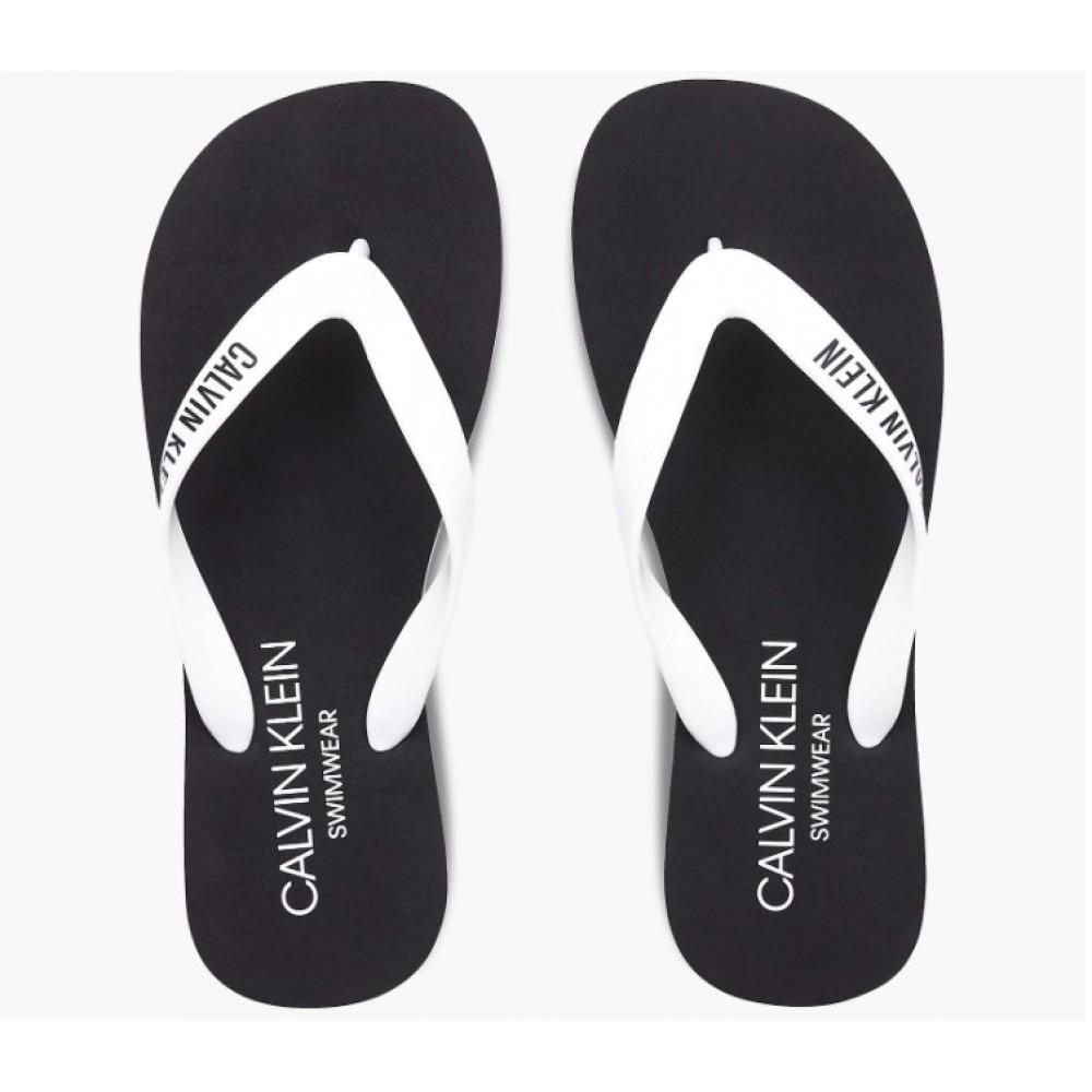 Calvin Klein Ανδρικές Παντόφλες Μαύρο - KM0KM00634-YCD