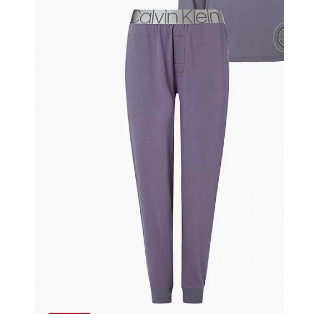 Calvin Klein Γυναικεία Φόρμα Κάτω Μέρος Homewear Μωβ - QS6757E-VDD