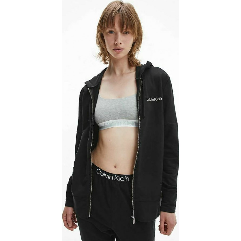 Calvin Klein Γυναικεία Ζακέτα Μαύρο - QS6759E-UB1