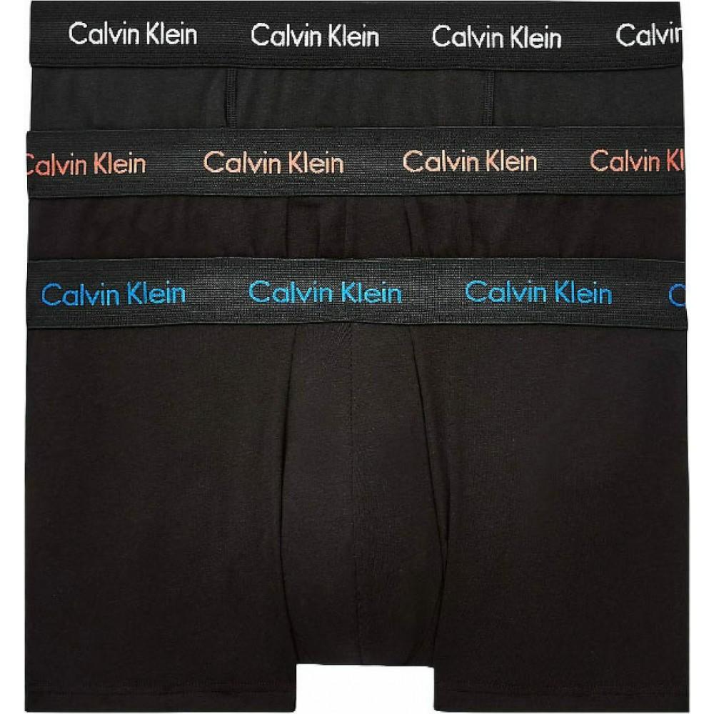 Calvin Klein Ανδρικά Boxer 3 τεμ. Μαύρα - U2664G-WHN