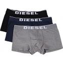 Diesel Ανδρικά Boxer 3τεμ. Μαύρο-Γκρι-Μπλε - 00ST3V-0JKKB-E4125