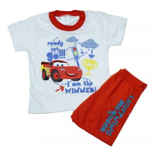 Disney Βρεφικές Καλοκαιρινές Πυτζάμες Αγόρι Πολύχρωμο - 60627-05 Παιδικά f138e4e6bb3