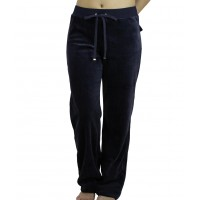 Harmony Γυναικείο Παντελόνι Βελουτέ  Μπλε Σκούρο - 27959 Γυναικεία