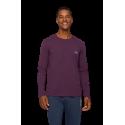 HUGO BOSS Ανδρική Μπλούζα-Πυτζάμα Μελιτζανί - 50379006-502