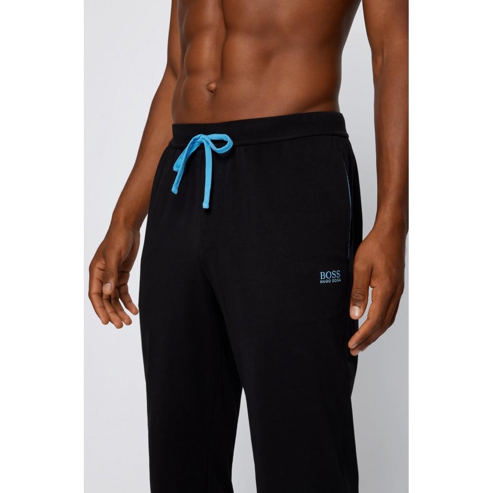 HUGO BOSS Ανδρικό Παντελόνι-Πυτζάμα Μαύρο - 50381880-011