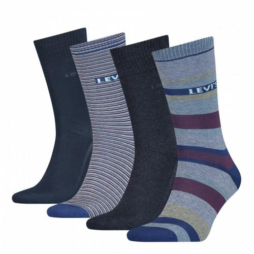 Levi's Ανδρικές Κάλτσες 4 τεμ.  Πολύχρωμες - 100000606