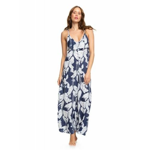 Roxy Γυναικείο Ολόσωμο Μπλε Σκουρο-Λευκό - ERJX603187-BSP6