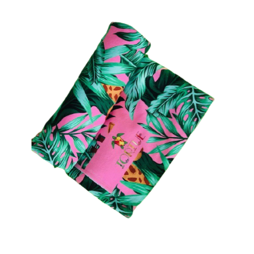 Tortue Παιδική Πετσέτα Θαλάσσης Ροζ - S1-055-100
