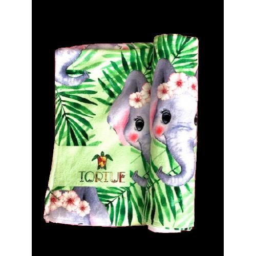 Tortue Παιδική Πετσέτα Θαλάσσης Πράσινο - S1-066-100