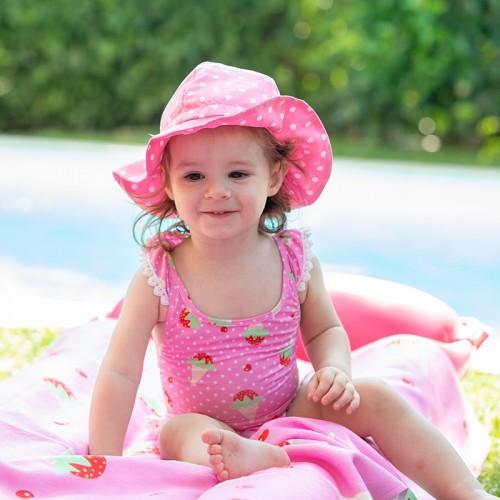 Tortue Παιδικό Καπέλο Ροζ-Πουά - S1-067-020