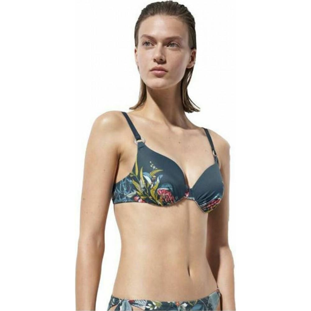 Triumph Γυναικείο Μαγιό Top Floral - 10207904-M008